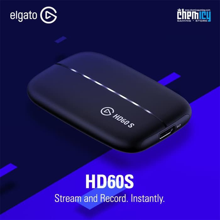 Elgato HD60S Game Capture Stream and Record