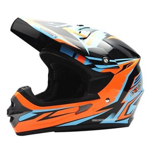 Cuci Gudang Helm cross Cargloss MXC Supercross - Grey Black Blue | Shopee Indonesia