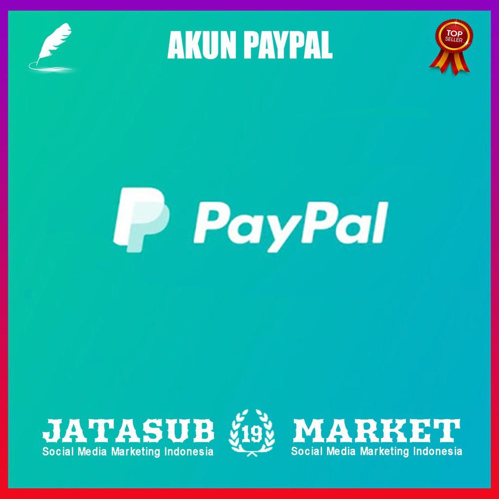 Akun Paypal Berumur 6 Bulan Sudah Verified Vcc 5 Tahun Bergaransi Shopee Indonesia