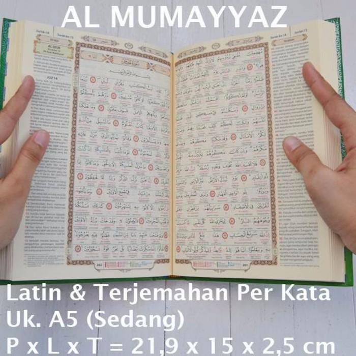 Alquran Tajwid Al-Hadi, Al-Quran Arab-Latin-Terjemah Per Kata