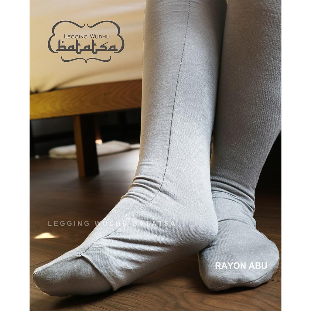 Legging Wudhu Pelangi Coklat Tua Bahan Jersey Platinum Import Warna Hitam Allsize Spandex Rayon Ori 100 Shopee Indonesia