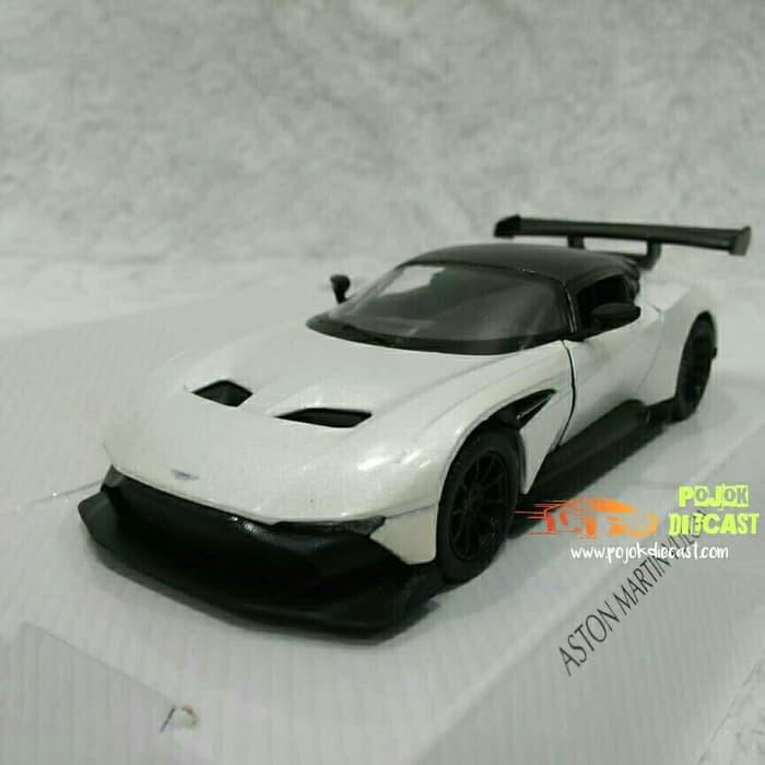 Aston Martin Vulcan Putih Diecast Shopee Indonesia