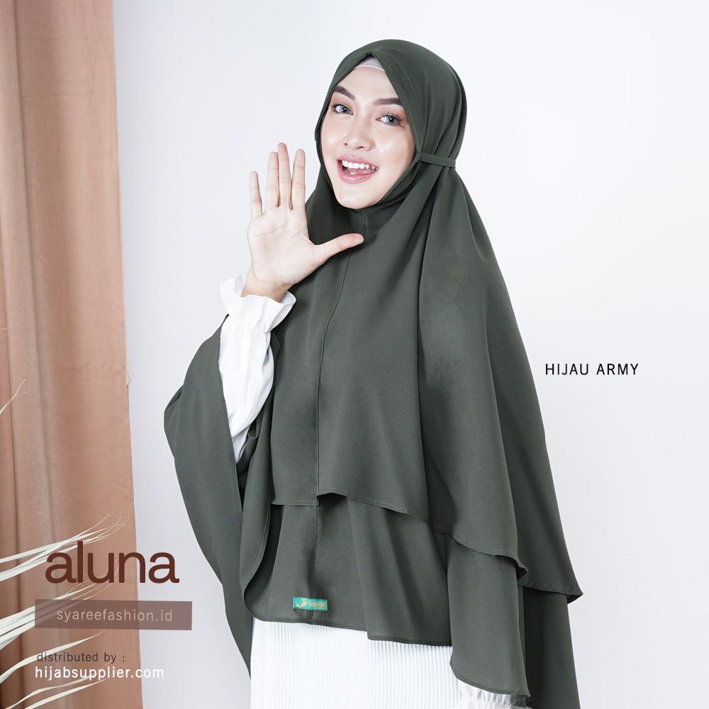 Jilbab Sorong Bergo Non Pet Jilbab Sorong Syari Bergo Syari Modern Jilbab Kekinian A Hijau Army Shopee Indonesia