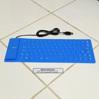 Keyboard Flexible Usb Keyboard External Flexibel Keyboard Karet Untuk Pc Dan Laptop Keyboard Mtk 01 Shopee Indonesia