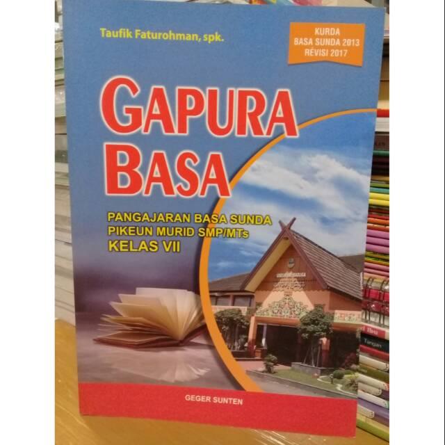 Kunci Jawaban Bahasa Sunda Kelas 7 Kurikulum 2013 Guru Galeri