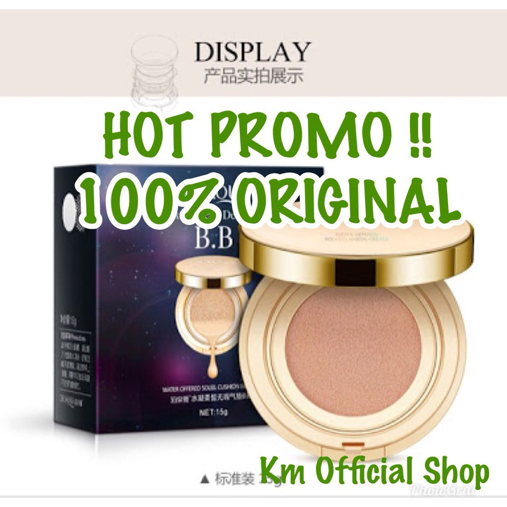 Up To 39 Discount From Brand Cc Natural 01 Bioaqua Bb Cushion Exquisite Delicate Plus Refill Gold Liquid Deli