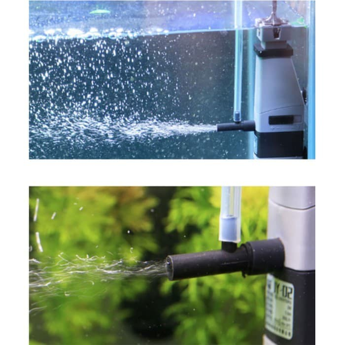 Topka Jy 02 Surface Skimmer Internal Filter Aquascape Aquarium Shopee Indonesia
