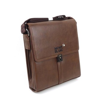 Tas Pria Slimbag Bodybag Import Branded - Mont Blanc Asnt Brown - Murah!  suka  0 beb278eac4