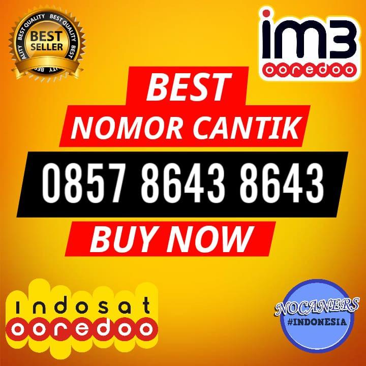TERMURAH KARTU PERDANA NOMOR CANTIK 085 60000 1371 NOMOR HP CANTIK Indosat IM3 4G   Shopee Indonesia