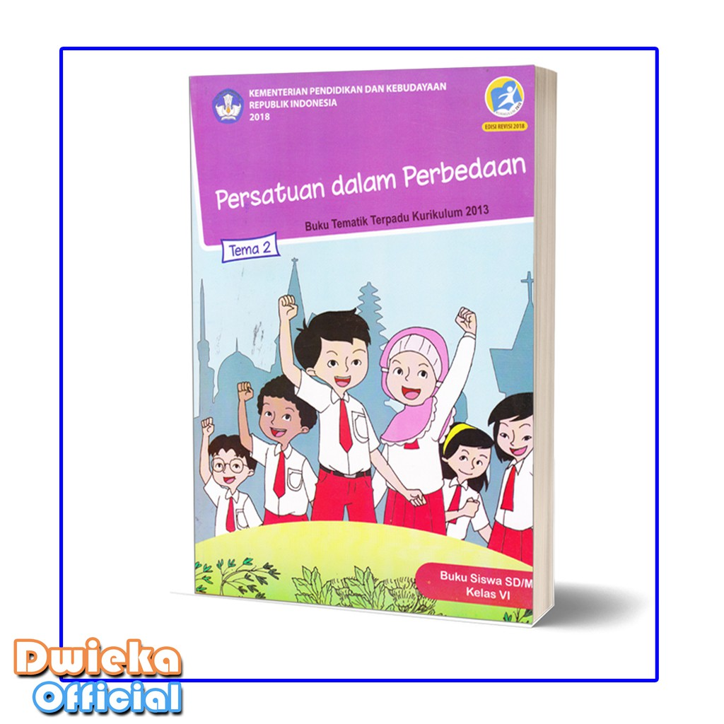 Paket Buku Tematik Kelas 6 Tema 1 Tema 2 Tema 3 Shopee Indonesia