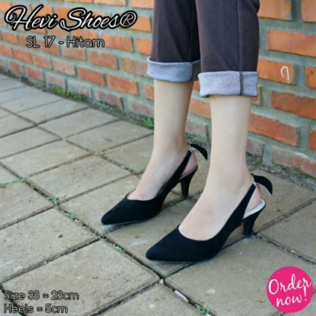 Preloved high heels Fladeo Matahari size 38  7c5291c069