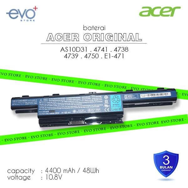 BATRE BATTERY Original Acer Aspire 4741 4741G 4741Z 4741ZG 4752 4750 e1 471 e1 431