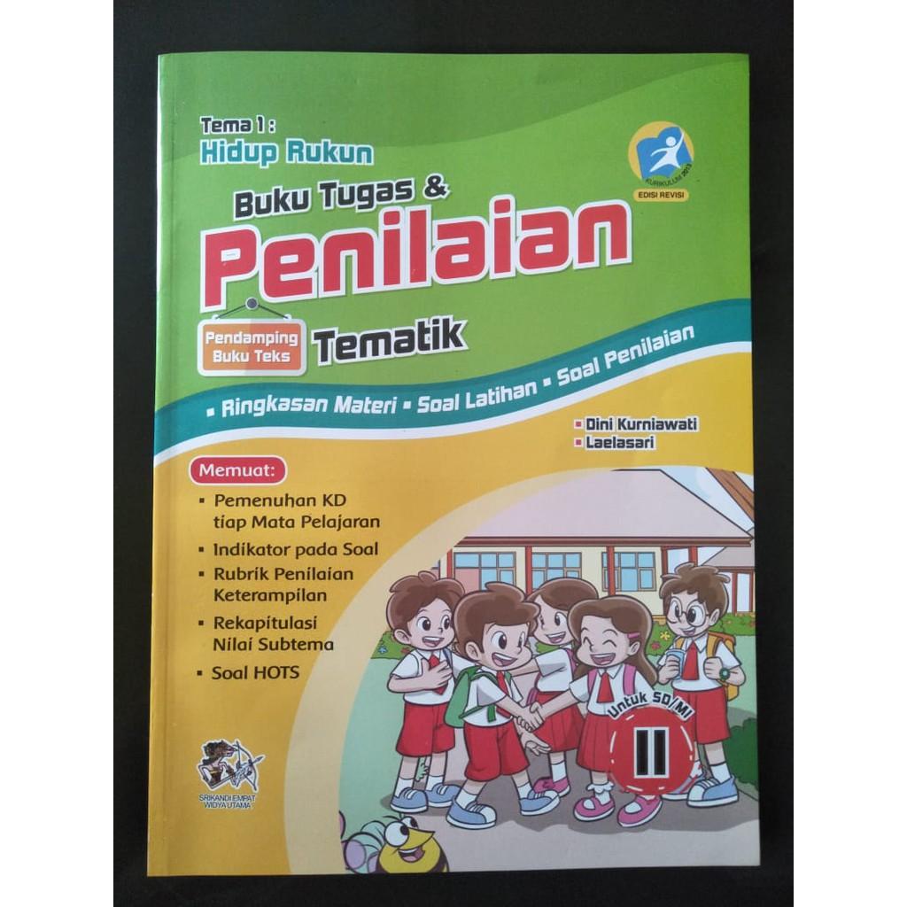 Buku Tugas Dan Tematik Sd Mi Kelas Ii Tema 1 Hidup Rukun Shopee Indonesia