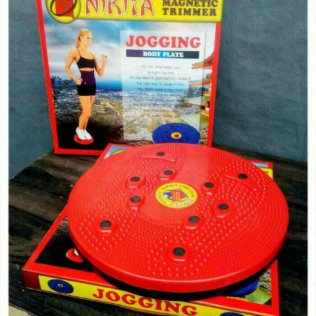 Nikita Paket Pelangsing Magnetic Trimmer Jogging Body Plate dan Tummy Trimmer | Shopee Indonesia