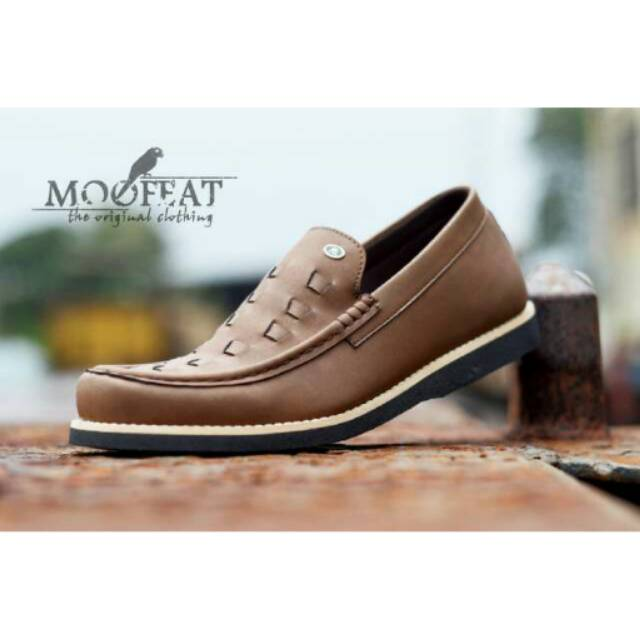 Best Seller Sepatu Casual Moofeat Moccasin Original Leather Slop Pria  Formal Santai Loafers Slip On  59f1f4956f