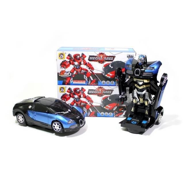 Robot Bisa Jadi Mobil ala Transformers Sudah Dibikin di Jepang