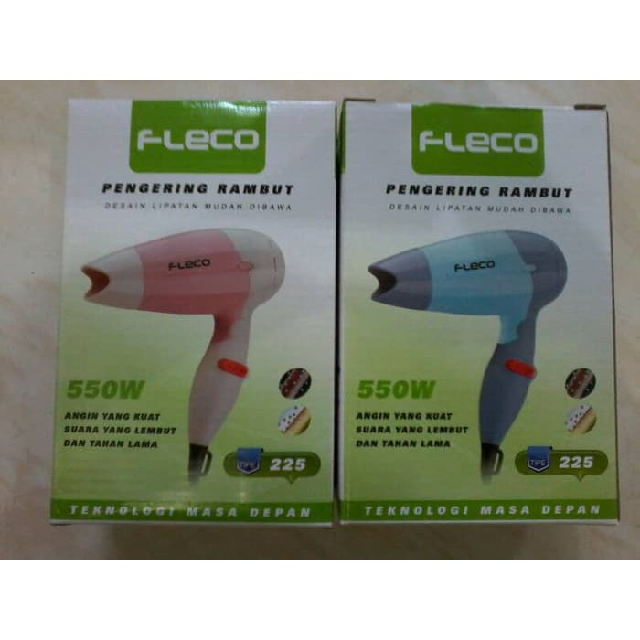 Hair Dryer FLECO 225 Lipat Pengering Rambut Portable HA007  345a3c68ae