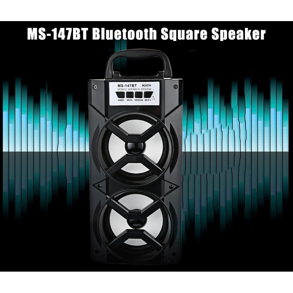 Speaker Pemain Musik Dengan Bluetooth Untuk Di Kendaraan Rexus Desktop C100 Merah Shopee Indonesia