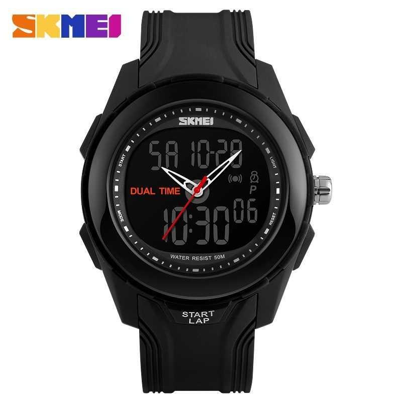 Digitec Jam Tangan Sport Dual Time DG2093T - Hitam Emas | Shopee Indonesia