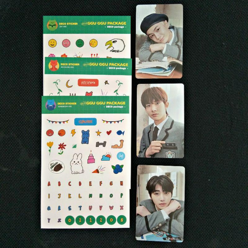 Sharing Ggu Ggu Package member set heeseung jay sunghoon