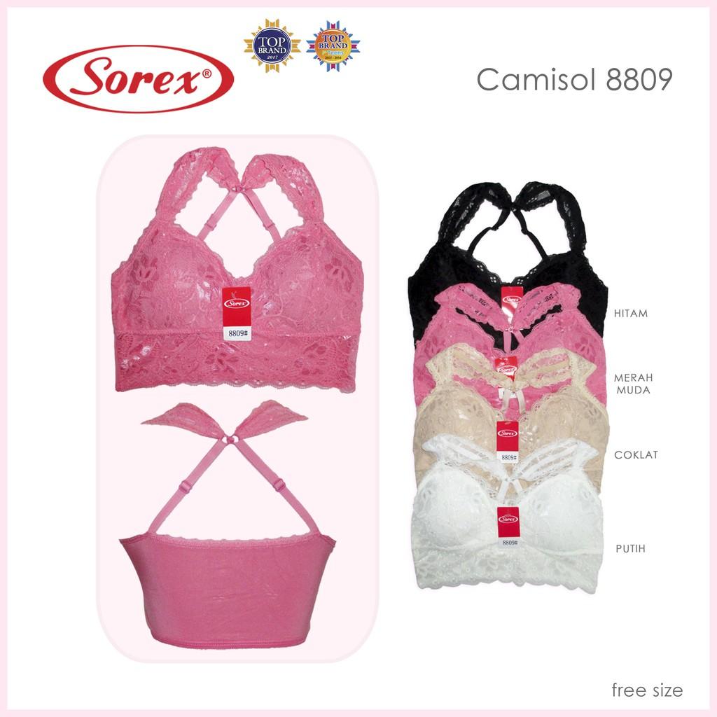 Camisol Wanita Sorex 5017 Tanktop Murah Berkualitas Shopee Katun Adem 1010 Cream L Indonesia