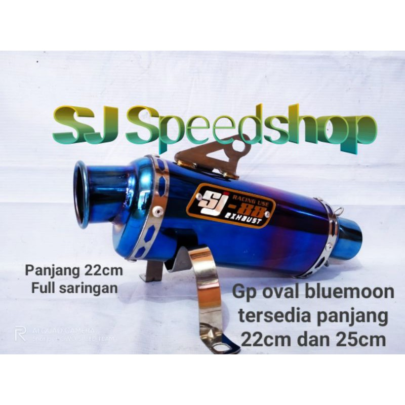 silincer sj88 gp oval bluemoon