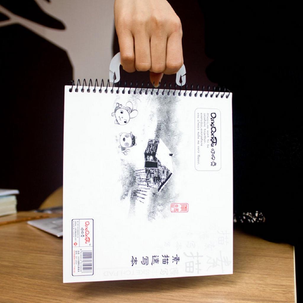 Joy Ode Kertas A4 Spiral Untuk Sketsa Gambar Sketsa
