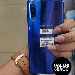 Samsung Galaxy A7 2018 Full Cover Tempered Glass Anti Gores Kaca Warna