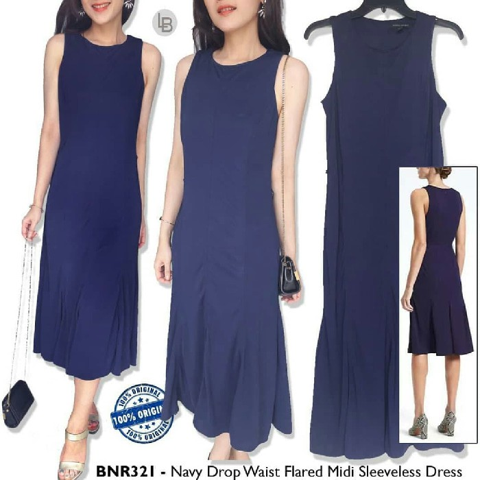 a6d91139 Banana Republic Paneled Ultility Midi Dress | Shopee Indonesia