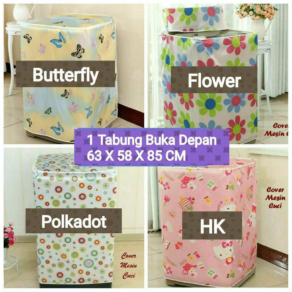 PROMO Sarung Mesin Cuci Cover 2 Tabung Buka Atas Anti Air Panas Tipe C   Shopee Indonesia