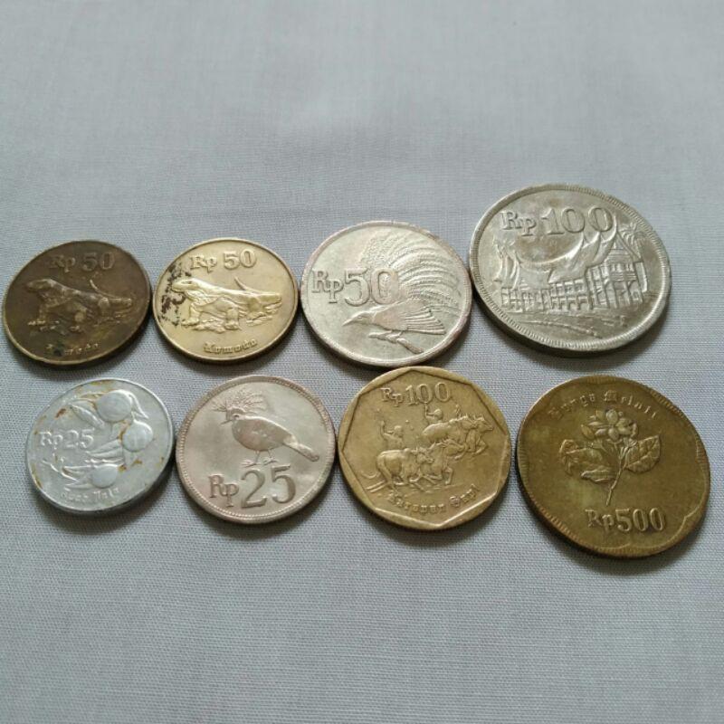 25 50 100 500 Rupiah Koin (8)