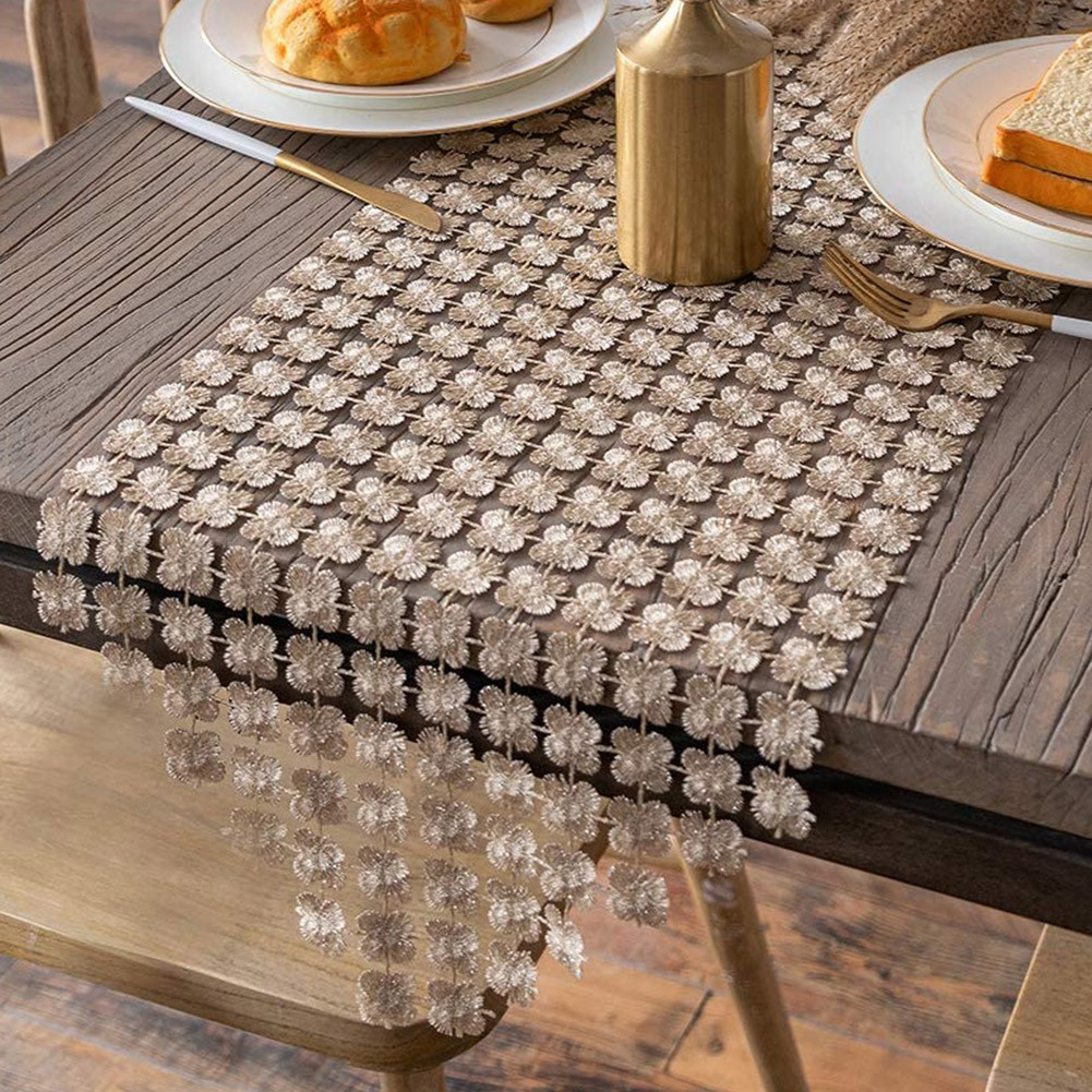 Restaurant Dining Room Party Rectangle Modern Simple Table Runner Shopee Indonesia