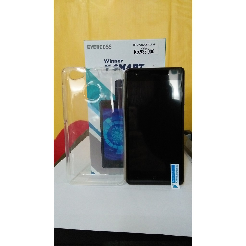 Evercoss U50c Termurah Shopee Indonesia S55 Elevate Y2 Power 6200mah Ram 2gb 16gb Gratis Silicon