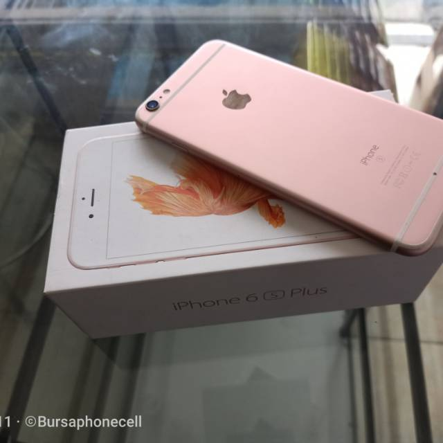 iphone 6s plus bekas fullset