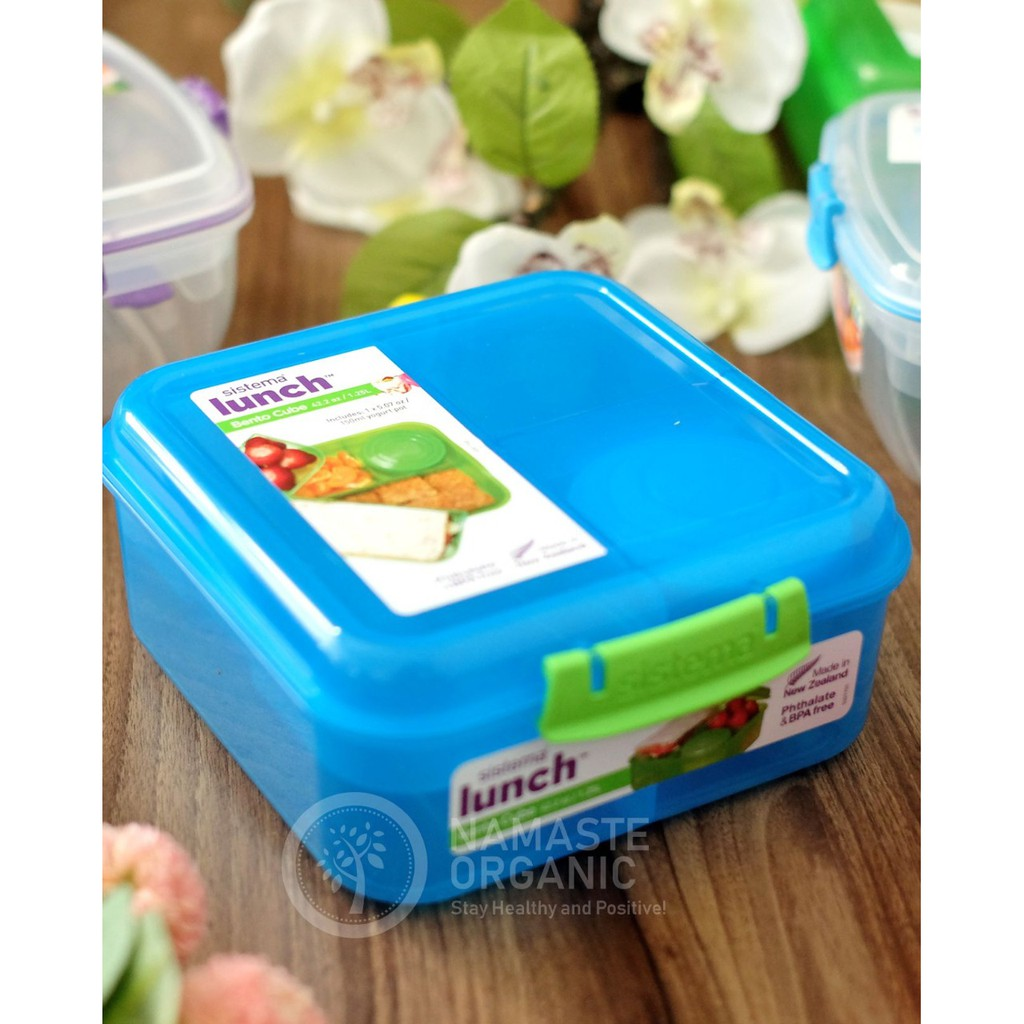 Sistema 2l Lunch Cube Max Purple Shopee Indonesia Hyundae Fixpix Glass Sheet 98 Uv Protection Hpu 89001