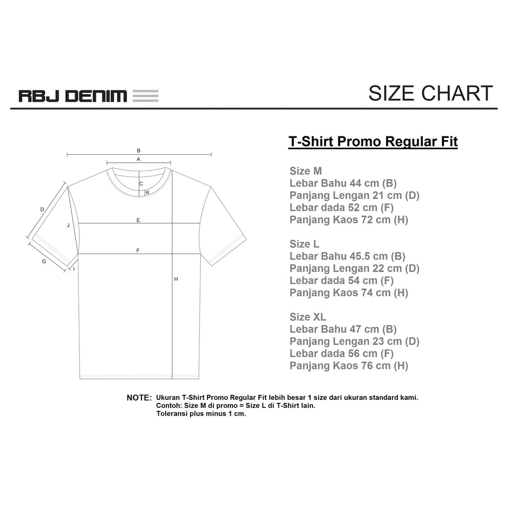 Promo Buy 1 Get 1 Rbj T Shirt Pria 6 Designs