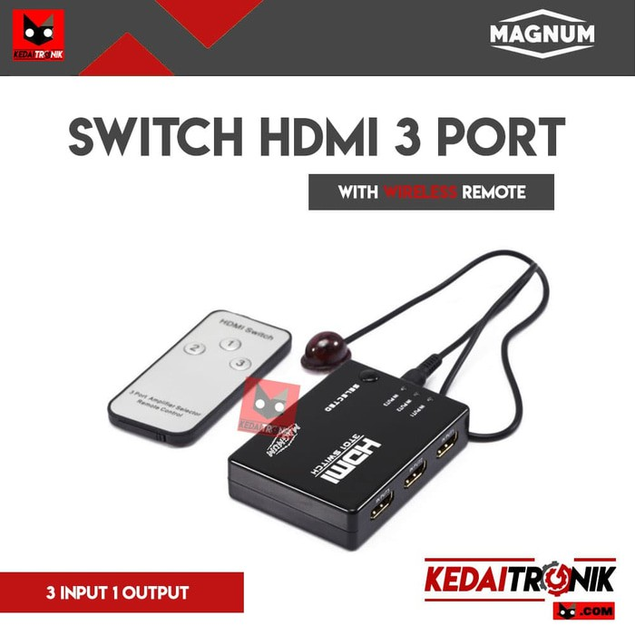 Gender HDMI Female-Female F-F Konektor Penyambung Connector MAGNUM | Shopee Indonesia