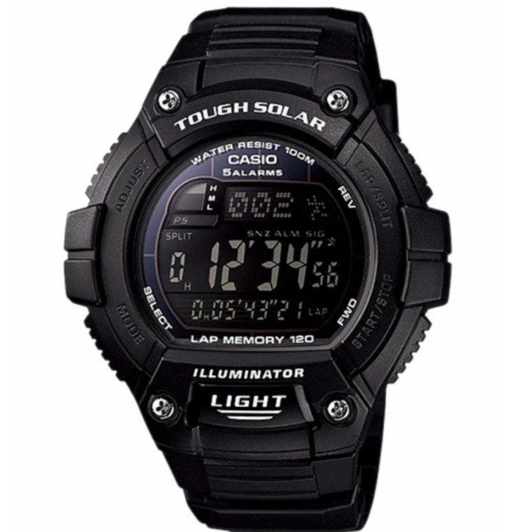Casio Original W-S220-1BV Tough Solar Digital Watch Jam Tangan ...