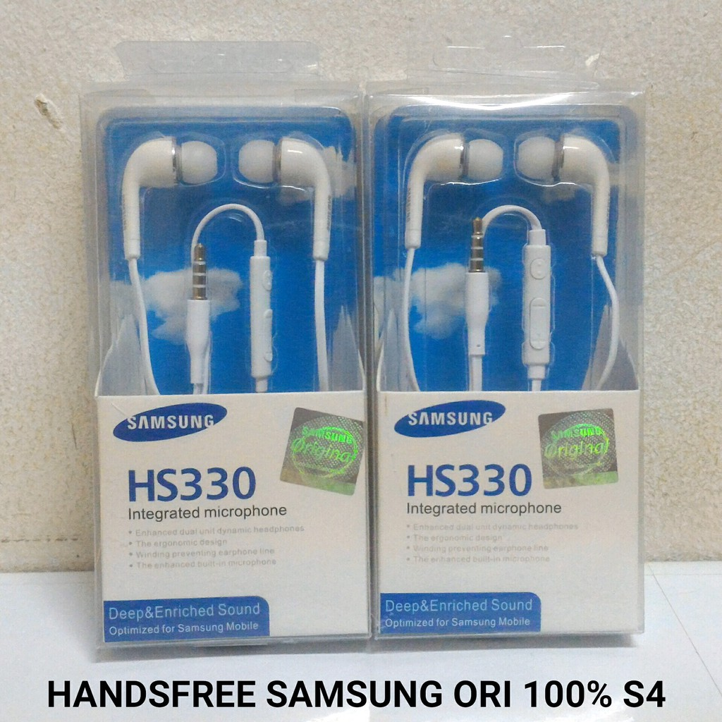 Handsfree Headset Hs330 Samsung Tanpa Karet Original 99 Mix Hedsset Kw Shopee Indonesia