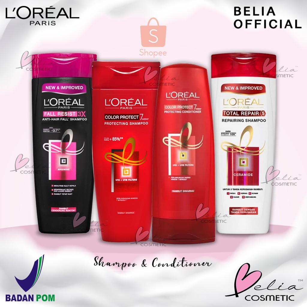 ❤ BELIA ❤ L'Oreal Paris Shampoo & Conditioner | Anti Rontok | Total Repair | Color Protect LOREAL