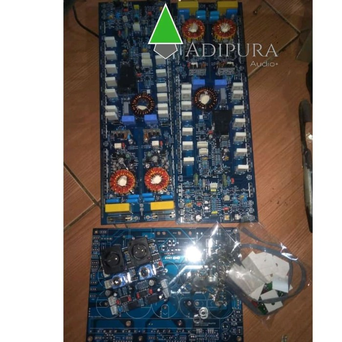 Kit Driver Power Amplifier Class TD High Volt Balap 200v Sepasang