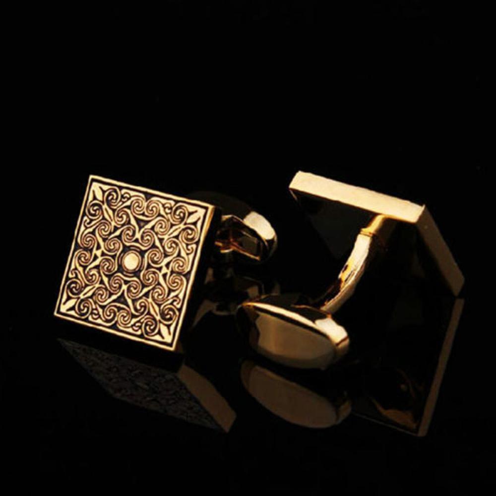 Set Cufflinks Pin Tie Jepit Dasi Slim Silver 01 Gold 7 Shopee Indonesia