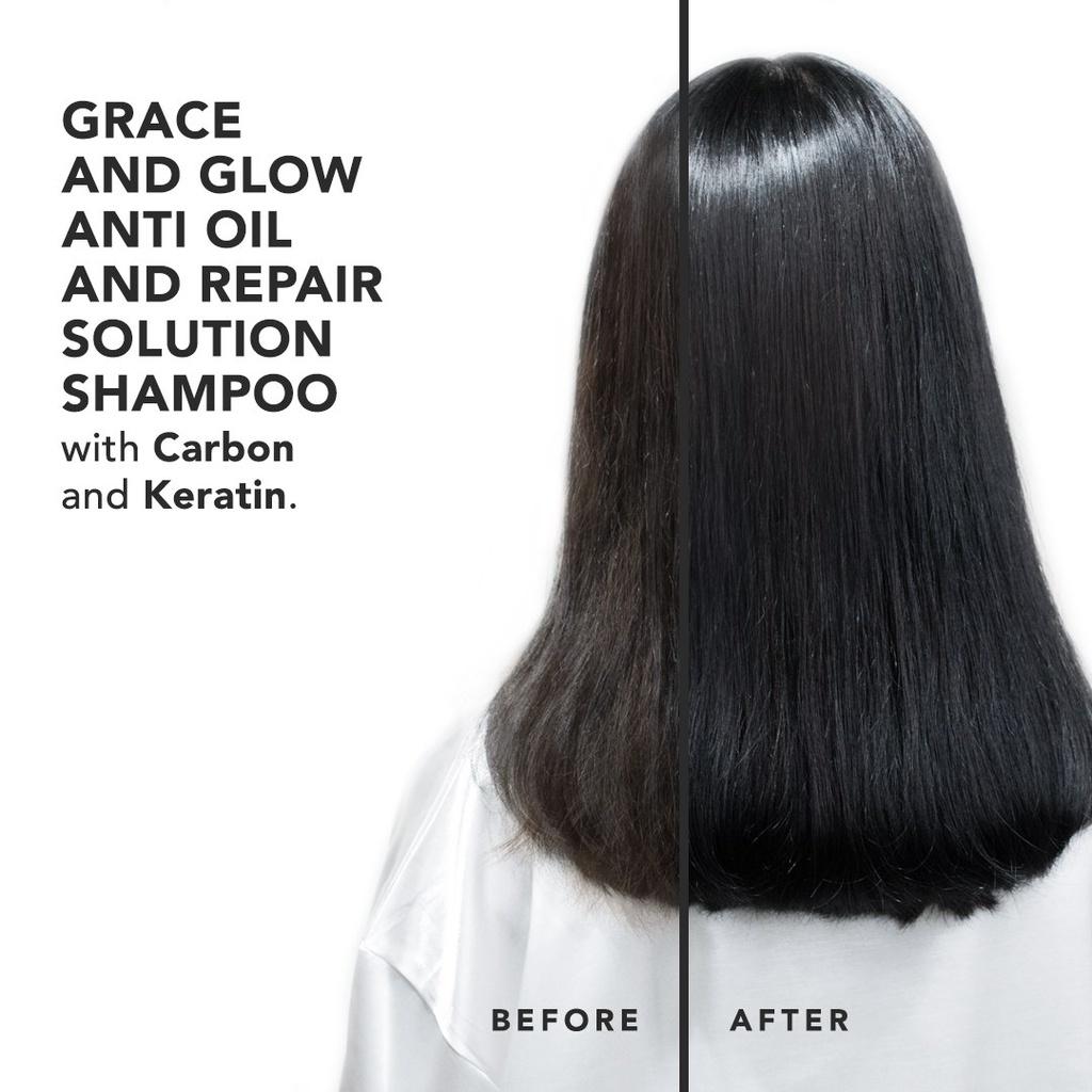 Grace & Glow Secret Bombshell Anti Oil and Repair Solution Shampoo-1