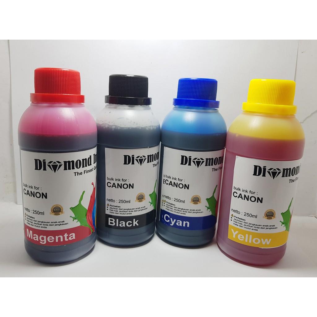 Paket Tiinta Hp 678 680 802 803 46 21 60 703 704 Diamond Ink 100ml Tinta Black Dan Color Original Paketan Shopee Indonesia