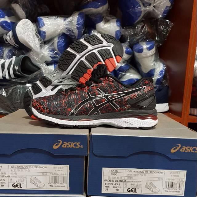 promo code 18a00 5840a Asics Gel-Kayano 23 Lite-Show /Sepatu Olahraga / Sepatu Voli