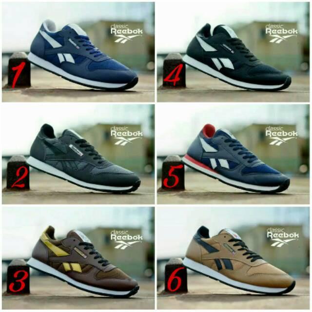 Produk Terbaru Murah !!! Sepatu Reebok Pria Sneaker Joging Lari ... fe5f22bd88
