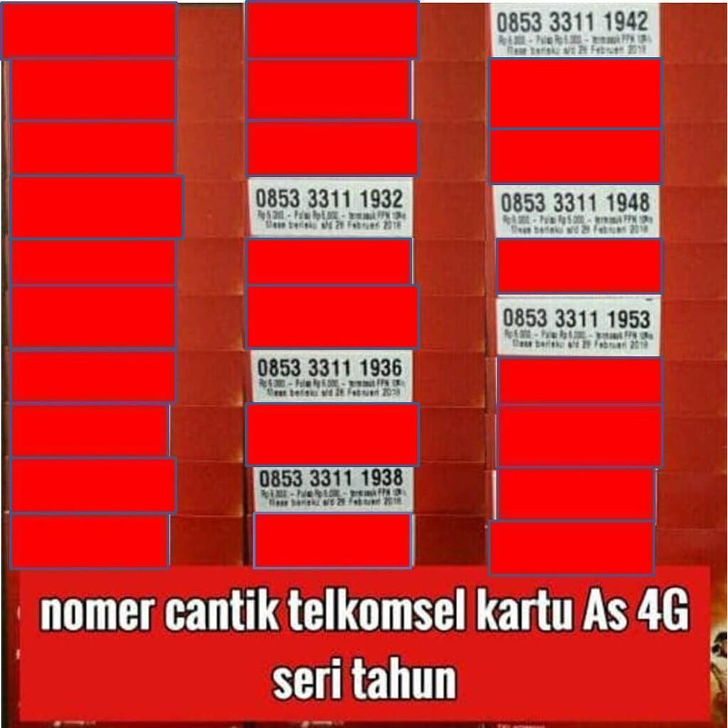 NOMOR CANTIK INDOSAT NOMER CANTIK INDOSAT KARTU PERDANA INDOSAT 4G LTE   Shopee Indonesia