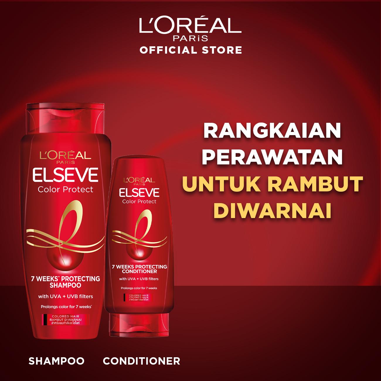 L'Oreal Paris Color Vive Protecting Shampoo Hair Care - 280 ml (Perawatan Rambut Setelah Diwarnai)-1