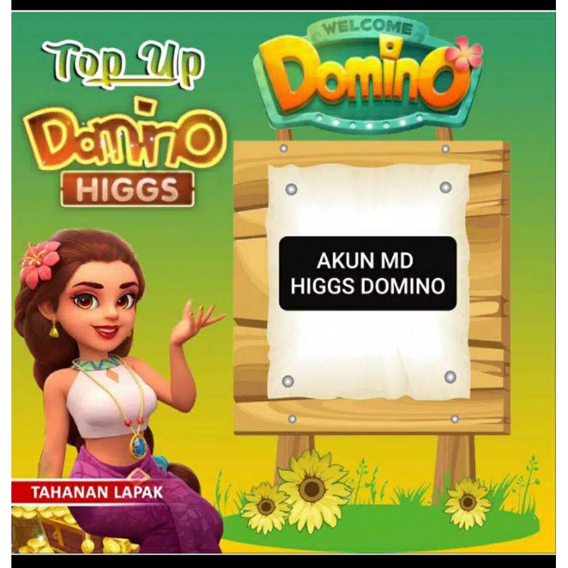 BONUS CHIP UNGU 5 B... DI JUAL AKUN MD HIGGS DOMINO ISLAND PLUS KOIN/CHIP 5B DI DALAM AKUN