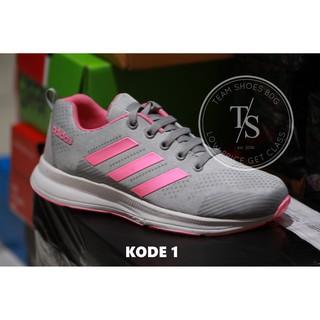 TS - Sepatu Olahraga Wanita Running Jooging Lari   Senam Adidas Zoom Women  Grade Original Sneakers a685d824c2